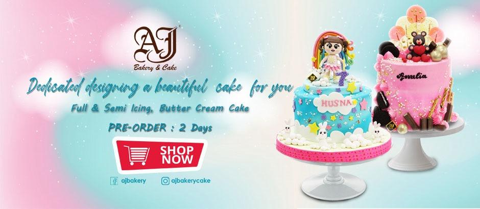 Aj Bakery Cake Online Shop Roti Cake Kue Ulang Tahun